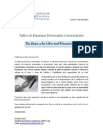 Taller de Finanzas Personales - 11 Febrero 2012
