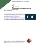 Anemia in Diphyllobothrium Latum