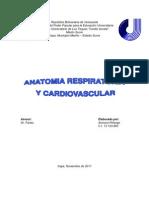 Anatomia Respiratoria y Cardiovascular
