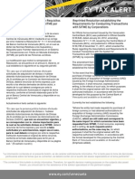 Tax  Alert - Reimpresa Resolución N° 11.11.03 Requisitos para tramitar operaciones en el SITME - PJ