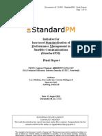 StandardPM D3001 Final Report