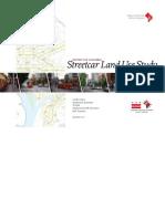 Streetcar Land Study