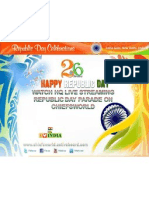 Watch Live Republic Day 2012