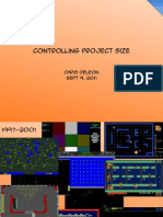Controlling Project Size for Student/Hobby Videogame Development