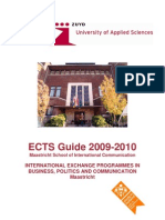 ECTS Guide 2009-2010