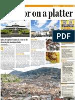 Ecuador on a platter