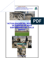 Fuente Agua Subterranea Valle Nasca