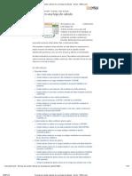 Formas de contar valores en una hoja de cálculo - Excel - Office