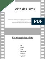 Aspekte Des Films