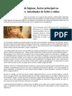 la mala higiene factor principal en infecciones de bebes y niños2