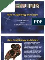 Owls in Mythology and Nature
