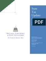 11-08-01 (NCSL) State Tax Update