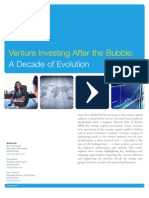 Venture Investing after the Bubble