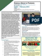Parish Newsletter - February 2012