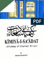 Alchemy of Happiness by Imam AL-Ghazali