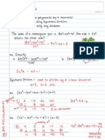 A2 6.2 Dividing Polynomials - synth div