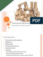 Paragraph Development 1
