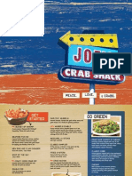 Joe's Crab Shack Main Menu NP