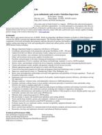 Nutrition Supervisor Employment Ad 1.5
