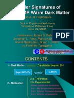 Jose A.R. Cembranos et al- Collider Signatures of SuperWIMP Warm Dark Matter