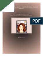 Norma Jordan Final Instructional Design Project