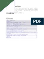 Cadena de Suministros Optimizacion de La Produccion
