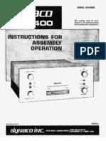 Dynaco ST400 Amplifier