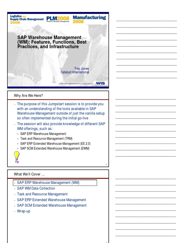 SAP Warehouse Management WM Introduction 26125078 | Warehouse ...