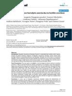 Idiopathic Autoimmune Hemolytic Anemia Due to Lecithin Overdose