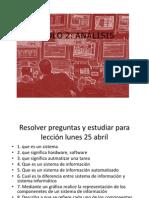 Sistemas de Información 5I-C1 C2 C3