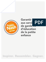 Garantir l'accès aux services de garde et d'éducation de la petite enfance