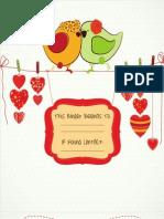 Lovebirds Template