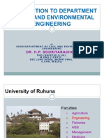 Faculty of Engineering - CEES - University of Ruhuna