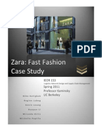 [Case Study] Zara Fast Fashion