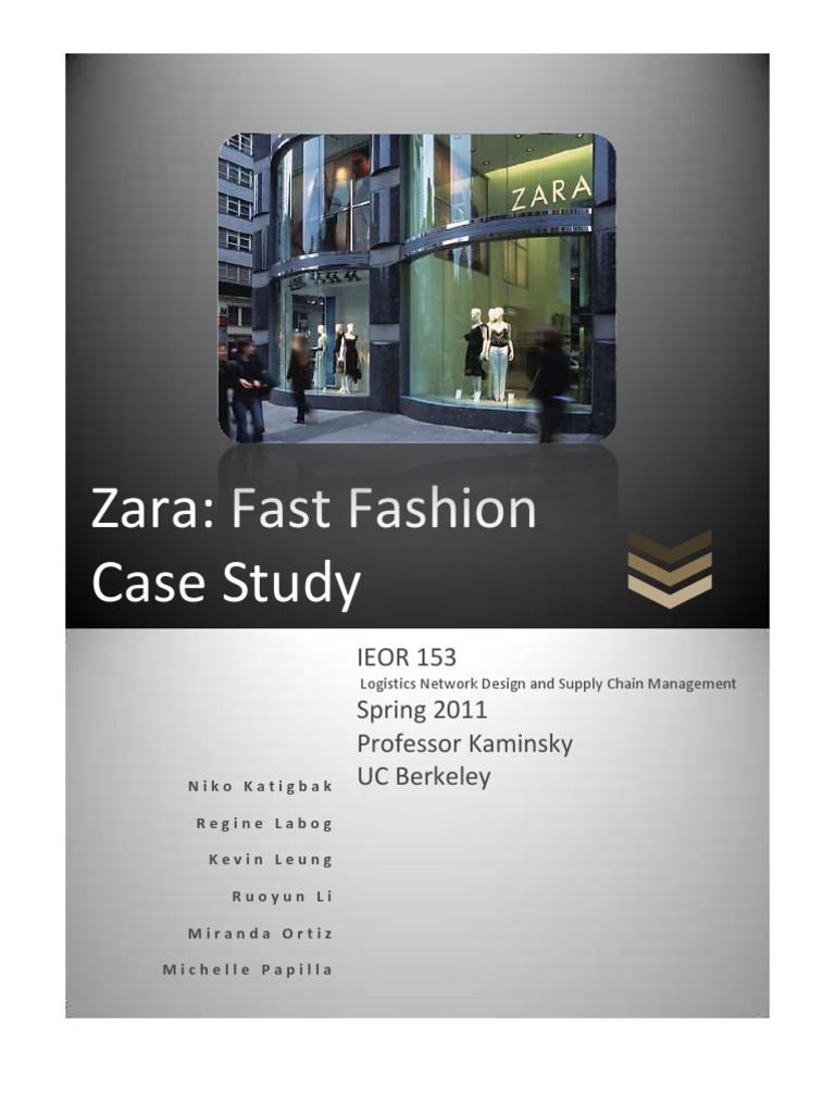 case study supply chain management zara 91 121 113 106 case study supply chain management zara