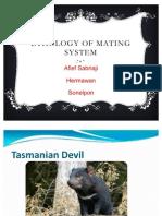 Ethology of Malting System