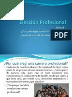 Psicología y desarrollo profesional U1