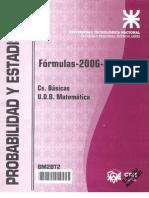 Probabilidad y a - Formulas 2006