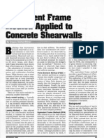 Equivalent Frame Method Applied to Concrete Shear Walls by Angelo Mattacchione