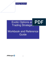 Exotic Options Workbook and Ref Material