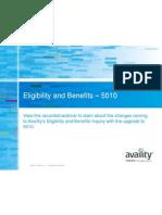 PPT 5010 Eligibility Benefits Base