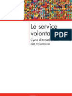 2004 FR Voluntary Service - Volunteer Management Cycle LR