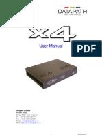 X4 User Manual