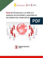 48730049 Guia de Introduccion a La Web 20 Aspectos de Privacidad y Seguridad en Las as Colaborativas