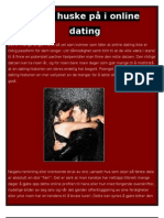Online Dating chattsidor