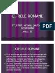 CIFRELE ROMANE