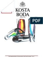 Implementation of Kosta Boda in French Market