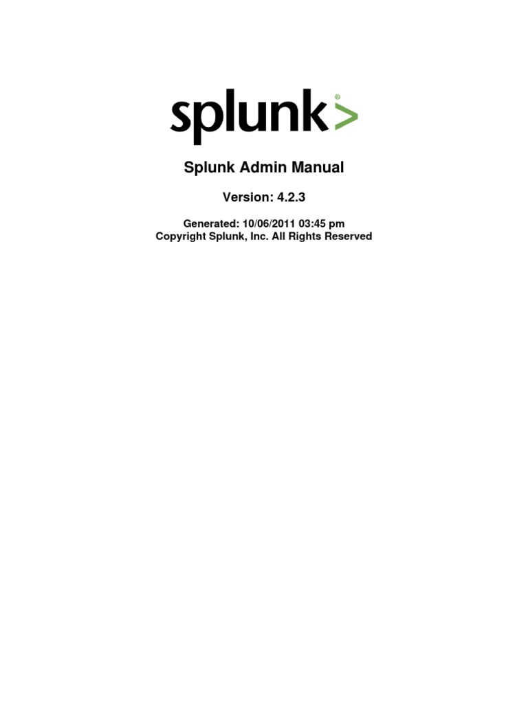 Splunk 423 admin command line interface backup 1betcityfo Choice Image