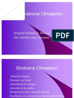 Síndrome Climatérico