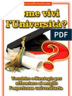 Come vivi l'università - SuccessoPersonale.com